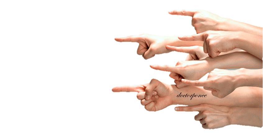 Dedos acusadores