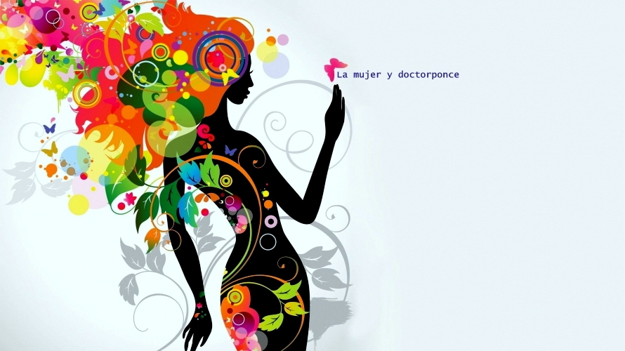 La mujer y doctorponce