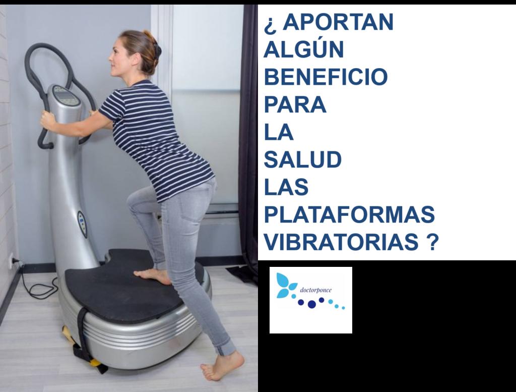 ¿Aportan beneficios para la salud las plataformas vibratorias?