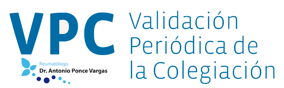 VPC Validación Periódica de la Colegiación Dr. Ponce