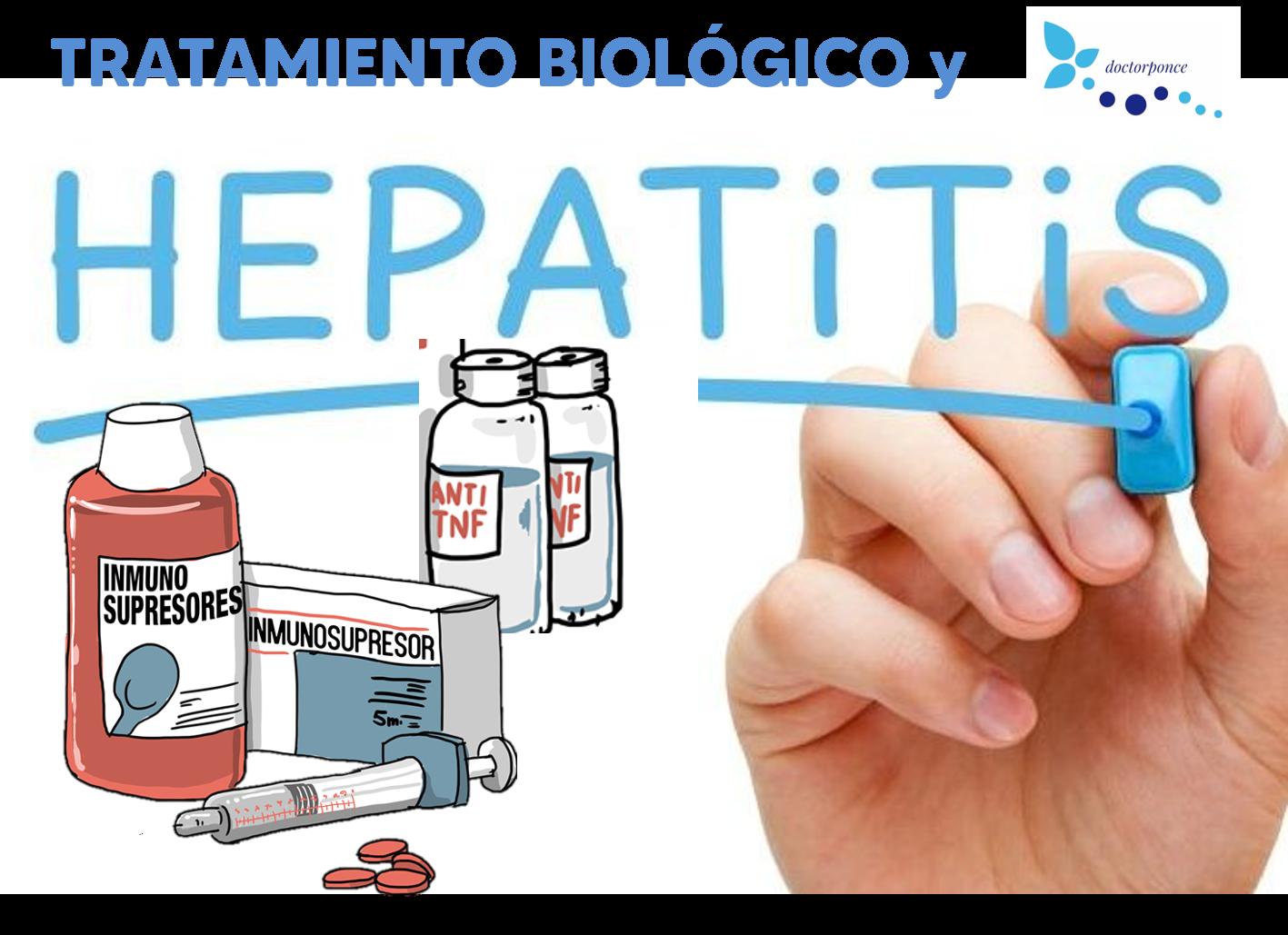 Tratamiento biológico y hepatitis B y C